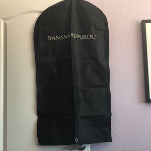 Garment Bag Travel Bag Banana Republic Black